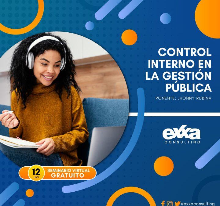 Control Interno Seminario Virtual